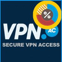Black Friday: 45 % Rabatt auf alle VPN.ac-Pläne!