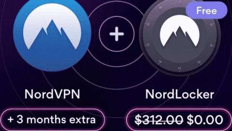 Winterurlaubsangebot: NordVPN - 3 Jahre + 3 Monate um nur €3.17/Monat + NordPass Abonnement KOSTENLOS